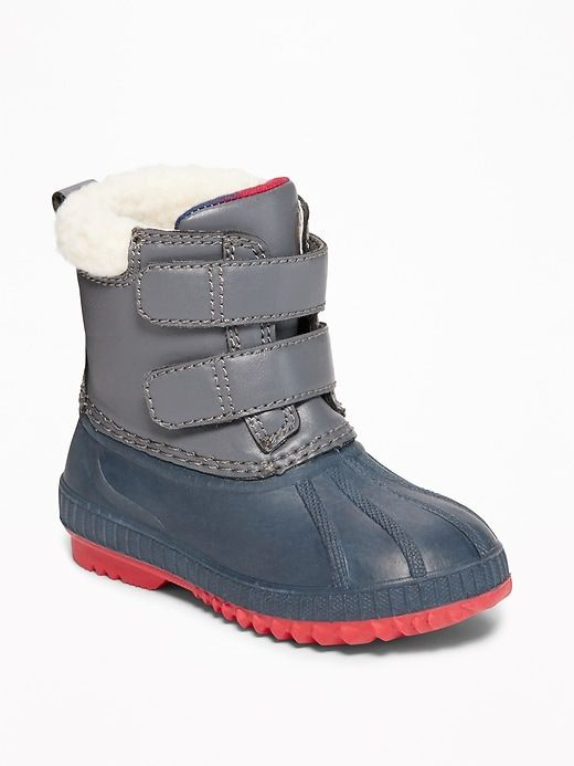 51579785bfe Color-Blocked Snow Boot for Toddler Boys | Toddler Shoes for Winter ...