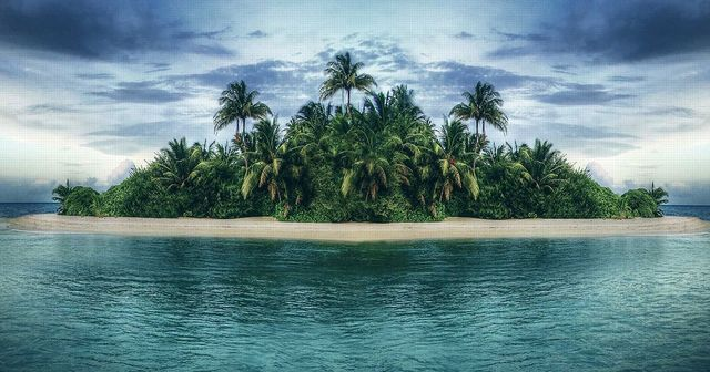 Will You Survive On A Deserted Island Island Survival Desert Island Island