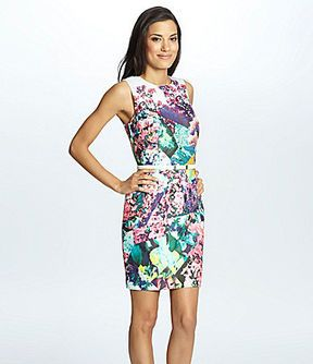 Cynthia Steffe Marlow Floral-Print Sheath Dress on shopstyle.com