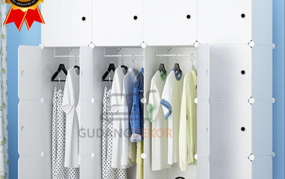 Selling Larizza 16 Doors Plain White Plastic Wardrobe 3 …-…