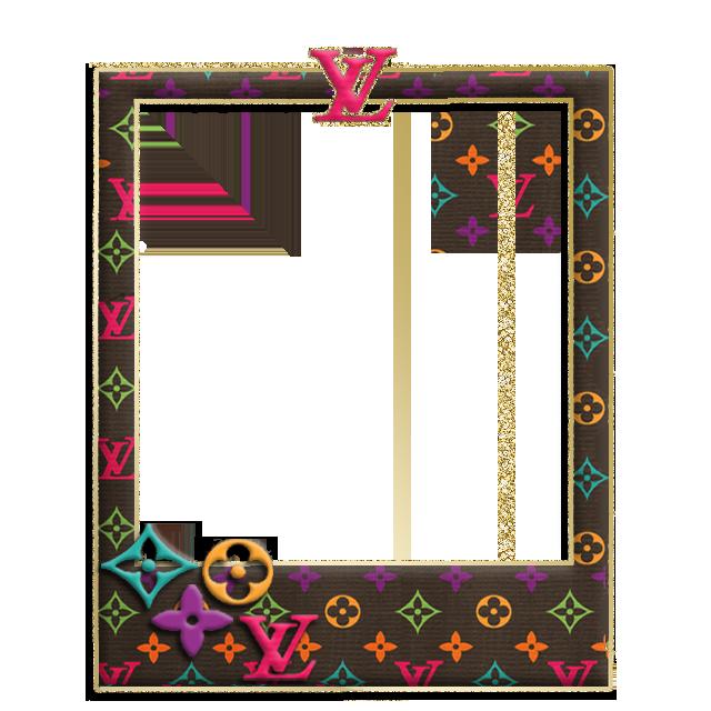 LV Frame(for uccw) png file | Frame, Pink, Wallpaper