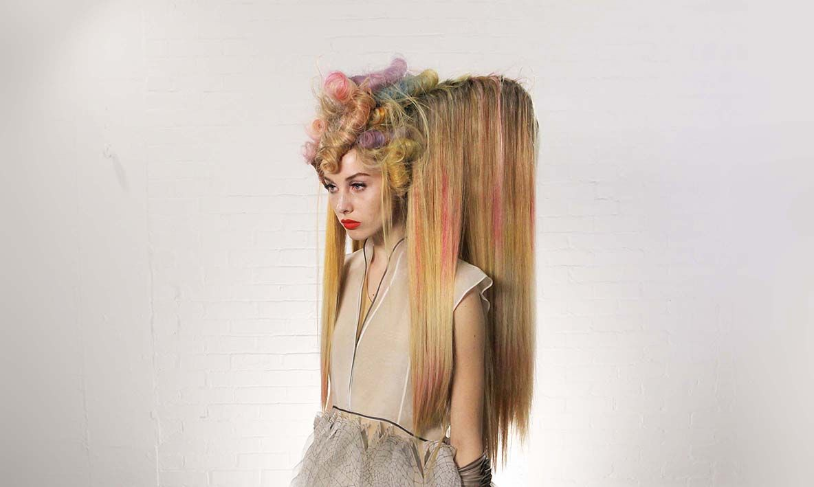 Wella Trend Vision • Urban Native - Look 15-pin it by carden