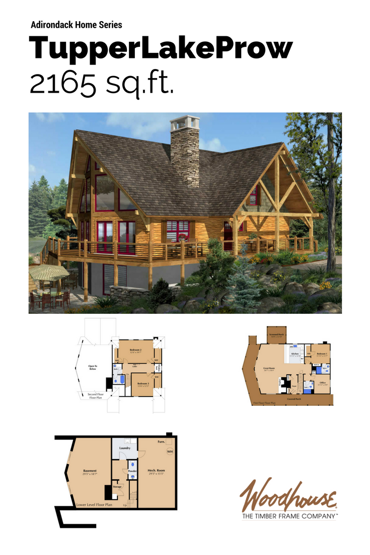 Timber Stone Log Siding And Twig Details Typify The Adirondack Style Initiated By The Industrialists Timber Frame Home Plans House In The Woods Timber House