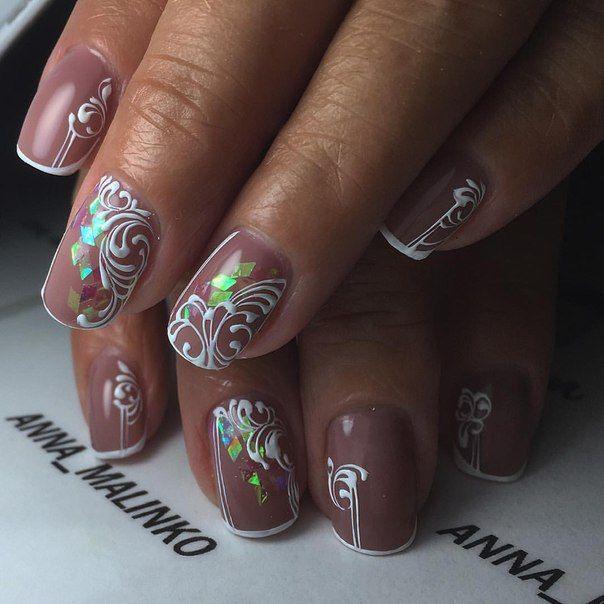 @pelikh_Фотографии на стене Анны | Гвоздь, Ногти, Белые ногти