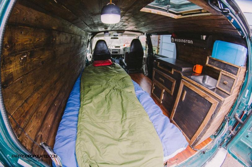 wohnmobil ausbau die 31 besten camper ausbauten unser. Black Bedroom Furniture Sets. Home Design Ideas