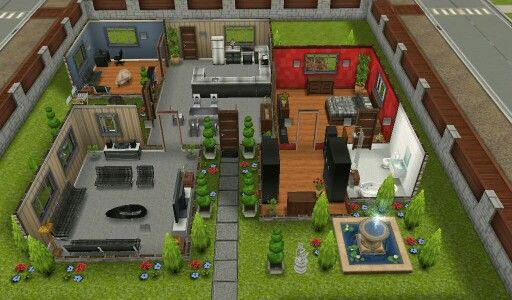 Sims freeplay designer house | Sims house | Pinterest | Sims and ...