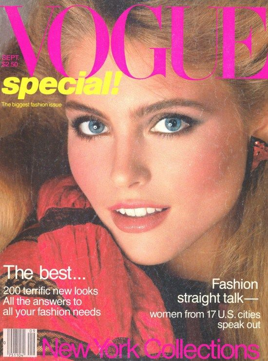 covers of vogue 1980s | Vogue September Issues Through the Decades « Living Vintage