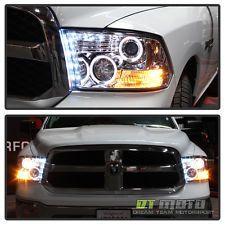 2009 2017 Dodge Ram 1500 2500 3500 Halo Projector Headlights 2010 Left Right