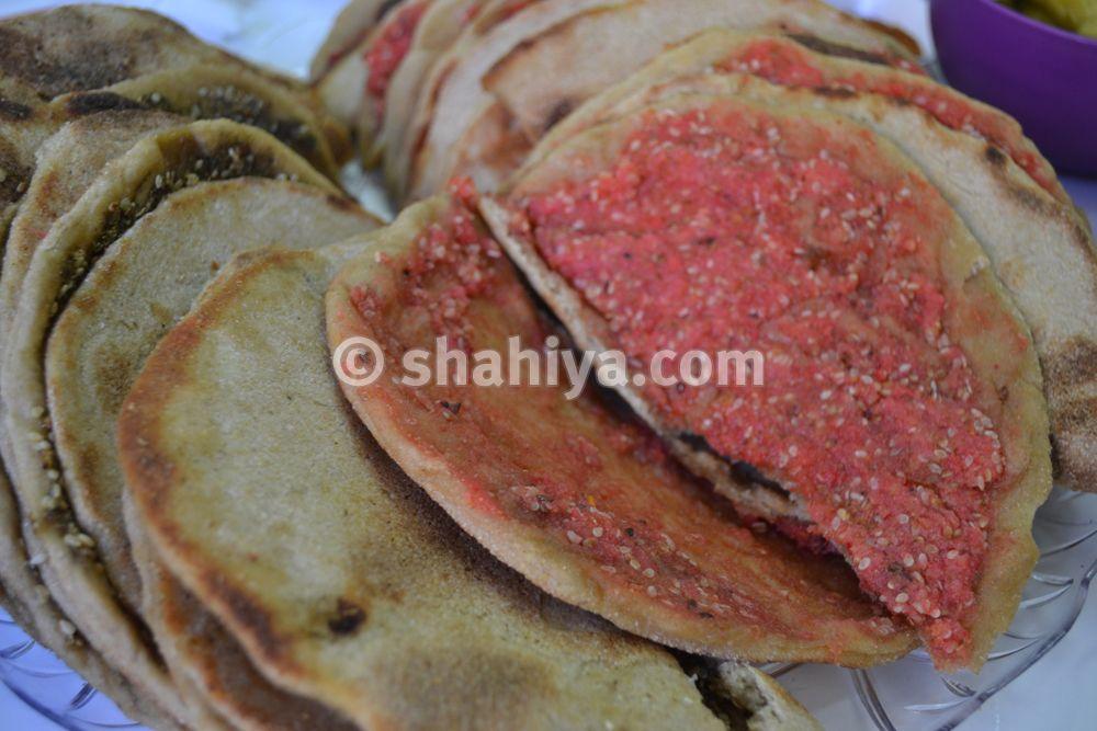مناقيش الكشك على الصاج Syrian Food Food Breakfast