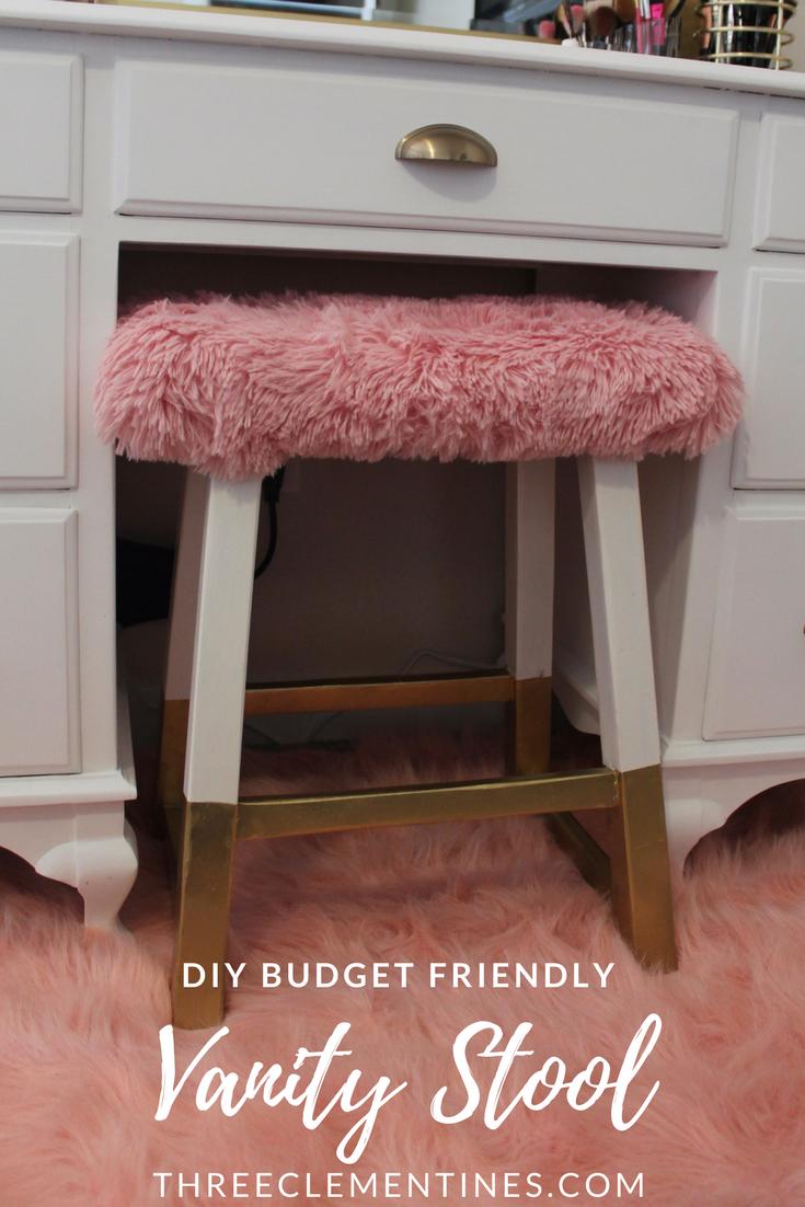 Diy vintage vanity makeover mirror makeover bedroom vintage and
