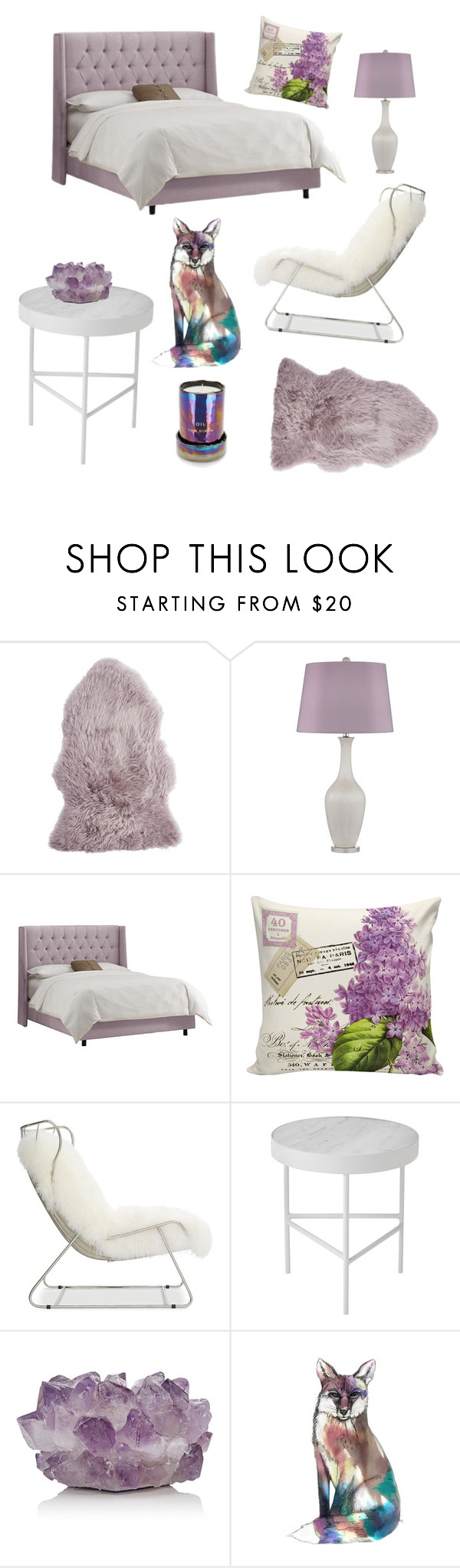 """""""LAVENDER"""" by fatimah42 ❤ liked on Polyvore featuring interior, interiors, interior design, home, home decor, interior decorating, Pier 1 Imports, Mitchell Gold + Bob Williams, ferm LIVING and McCoy Design"""