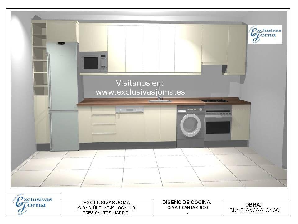 Últimos diseños de los muebles de cocina del Nuevo Tres Cantos ...