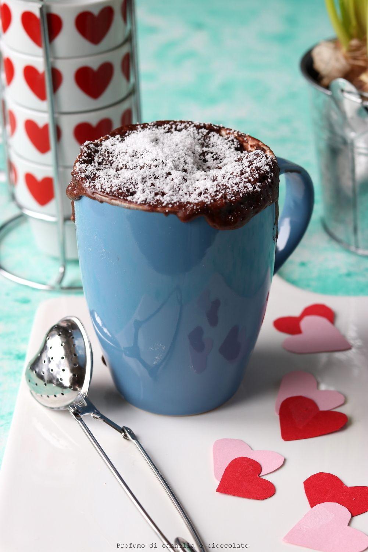Mug cake al cioccolato al microonde