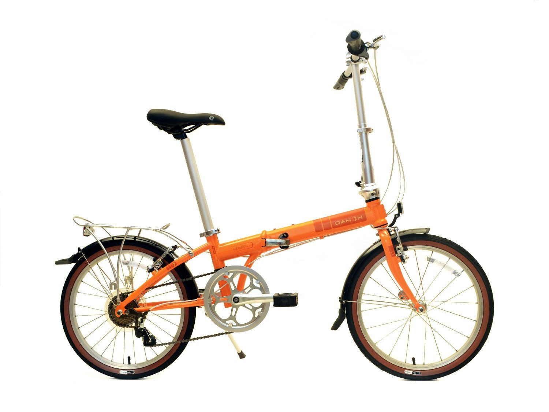 Dahon Speed D7 Folding Bike Tangerine One Size Sports