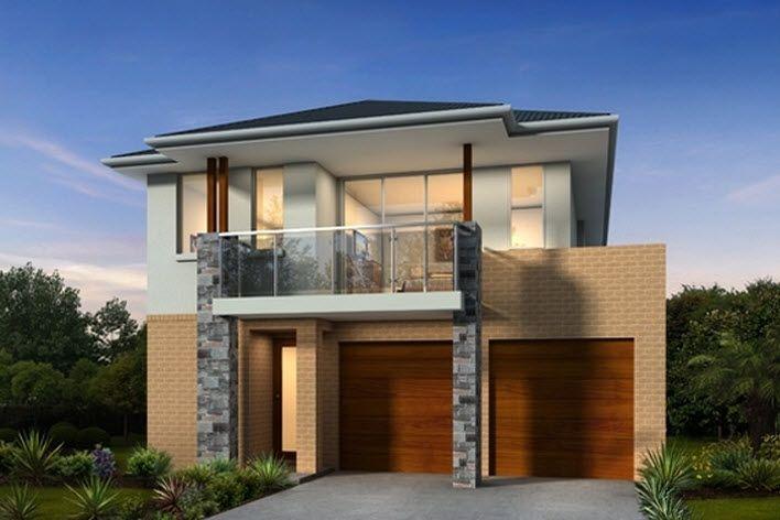 5 modelos de casas de dos pisos y tres dormitorios for Modelos de casas de 3 dormitorios