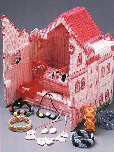 Plastic Canvas Castle