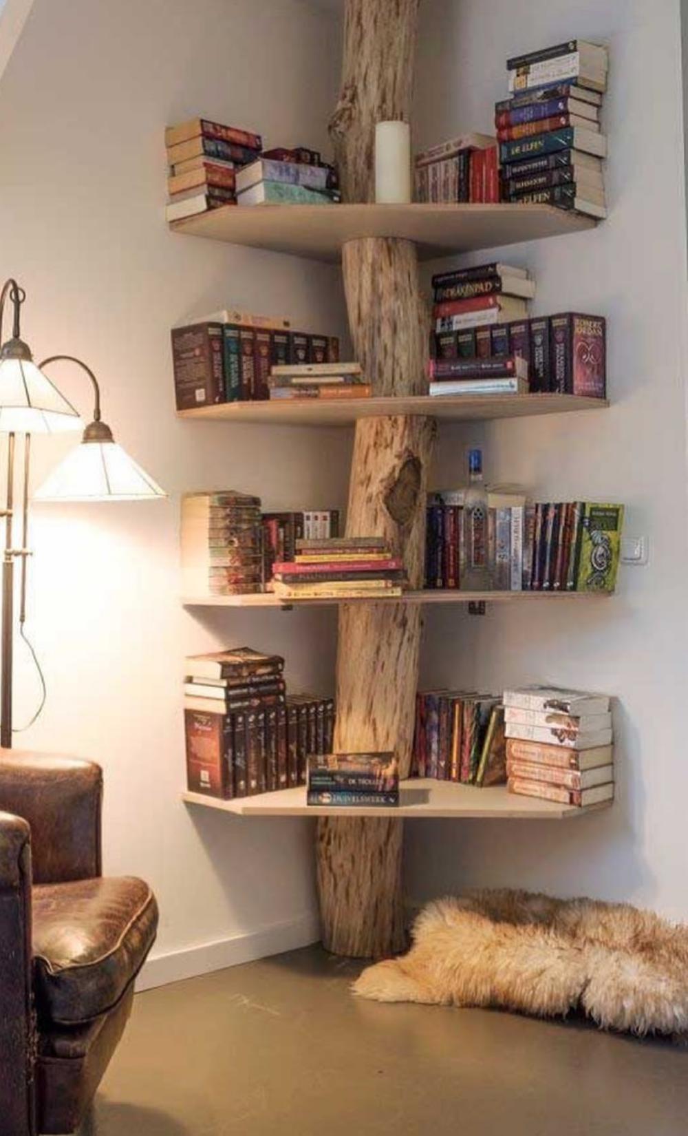 Unique Design Wooden Display Shelves