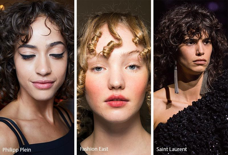 Fall Winter 2019 2020 Hairstyle Trends Curly Hair With Bangs