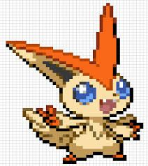 Victini Pokemon Legendaire Hama