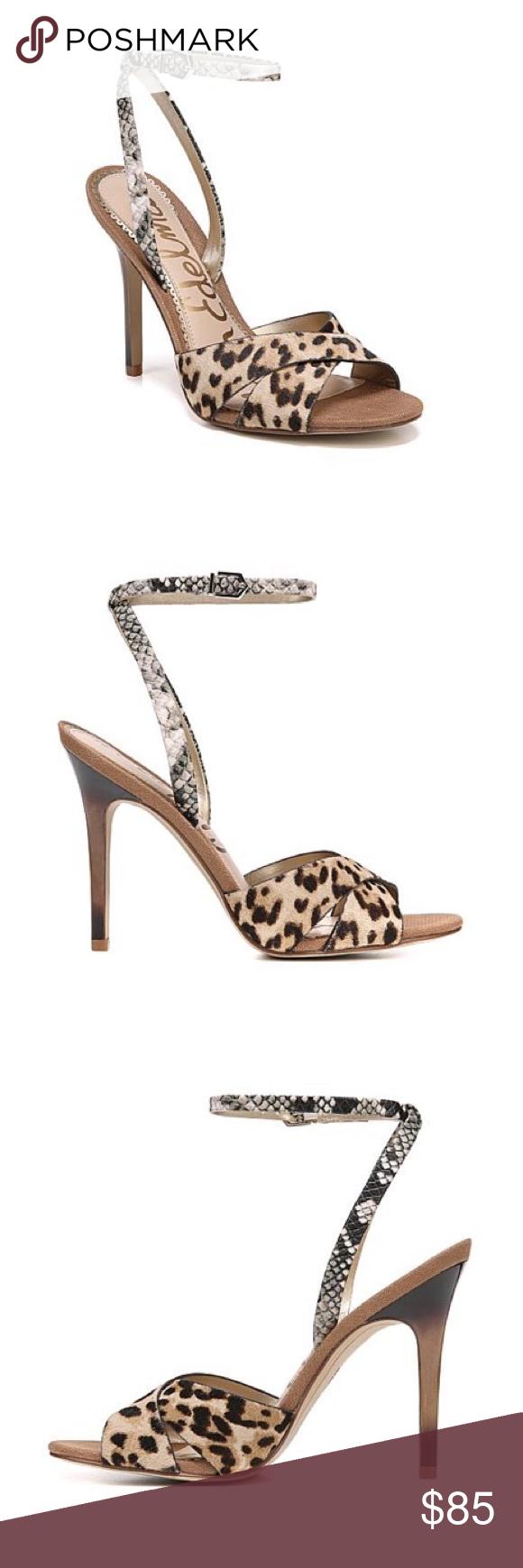 Sam Edelman 'Aly' Leopard print Heels
