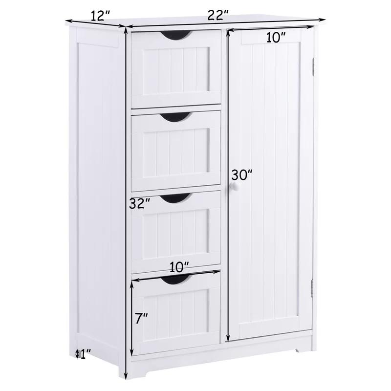 Cofield Wooden 22 W X 32 H Cabinet Cupboard Storage Storage Cabinets Bathroom Storage Cabinet