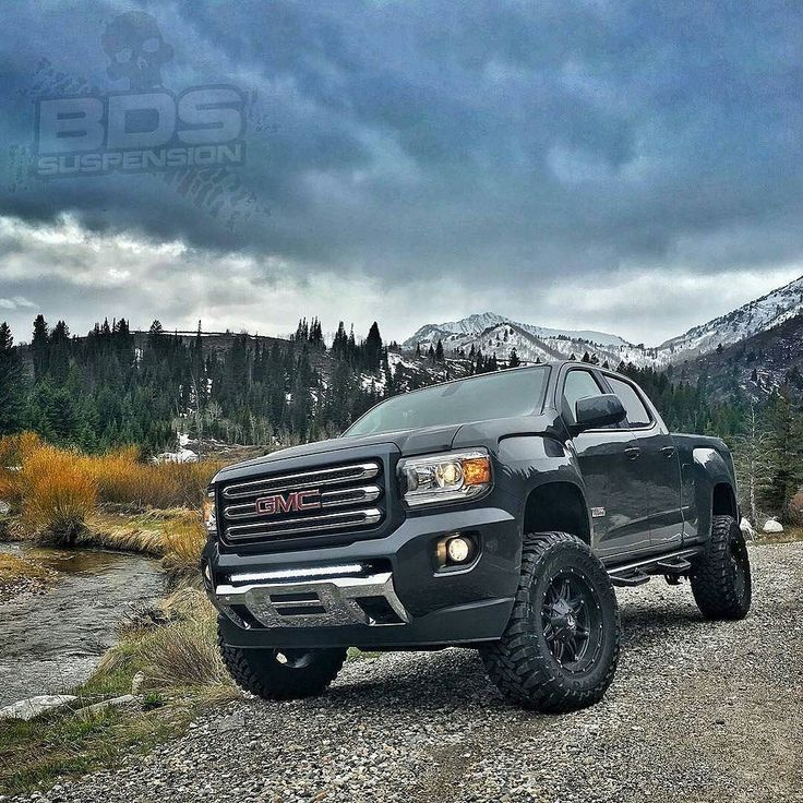 Colorado Diesel: Lifted Canyon In Mountains