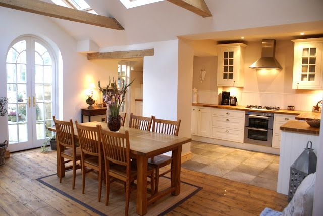 Open Kitchen Diner The Swenglish Home Kitchendiner Country - Kitchen diner family room ideas