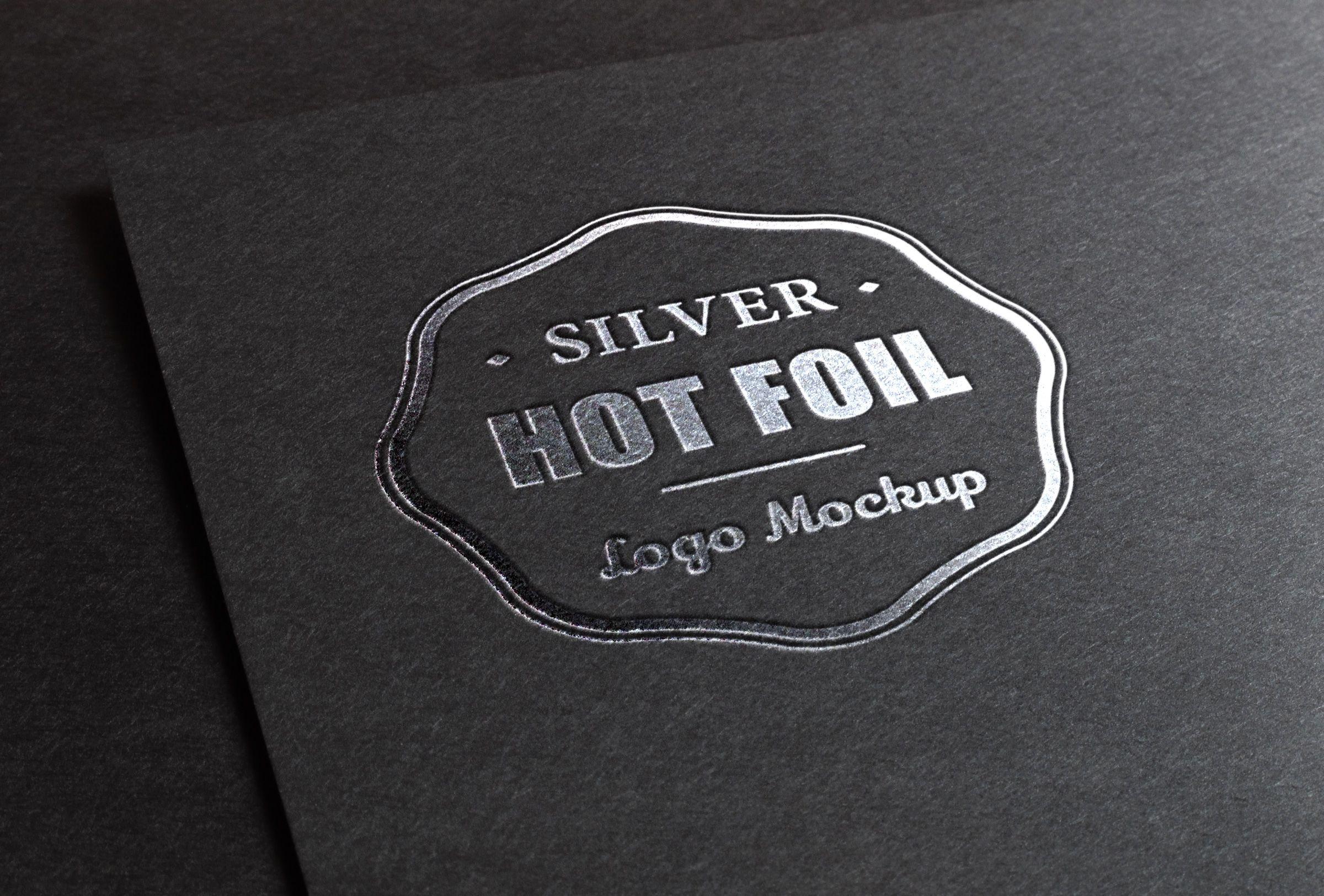 Download Silver Stamping Logo Mock Up Psd Free Logo Mockup Free Logo Mockup Psd Logo Mockup