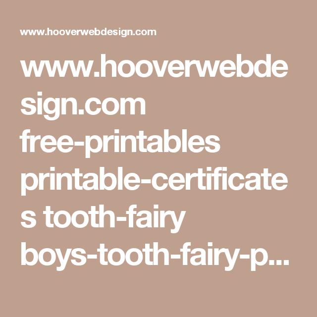 www.hooverwebdesign.com free-printables printable-certificates ...