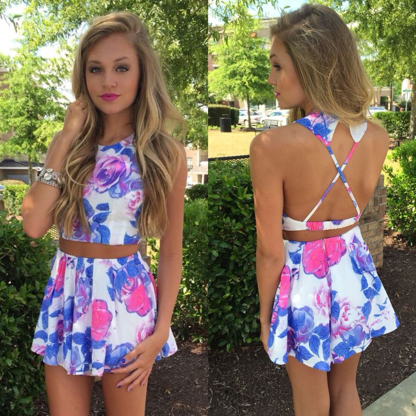Flower Bomb Set Swoonboutique Cute Outfits Clothes Cute Summer Outfits [ 1334 x 1334 Pixel ]