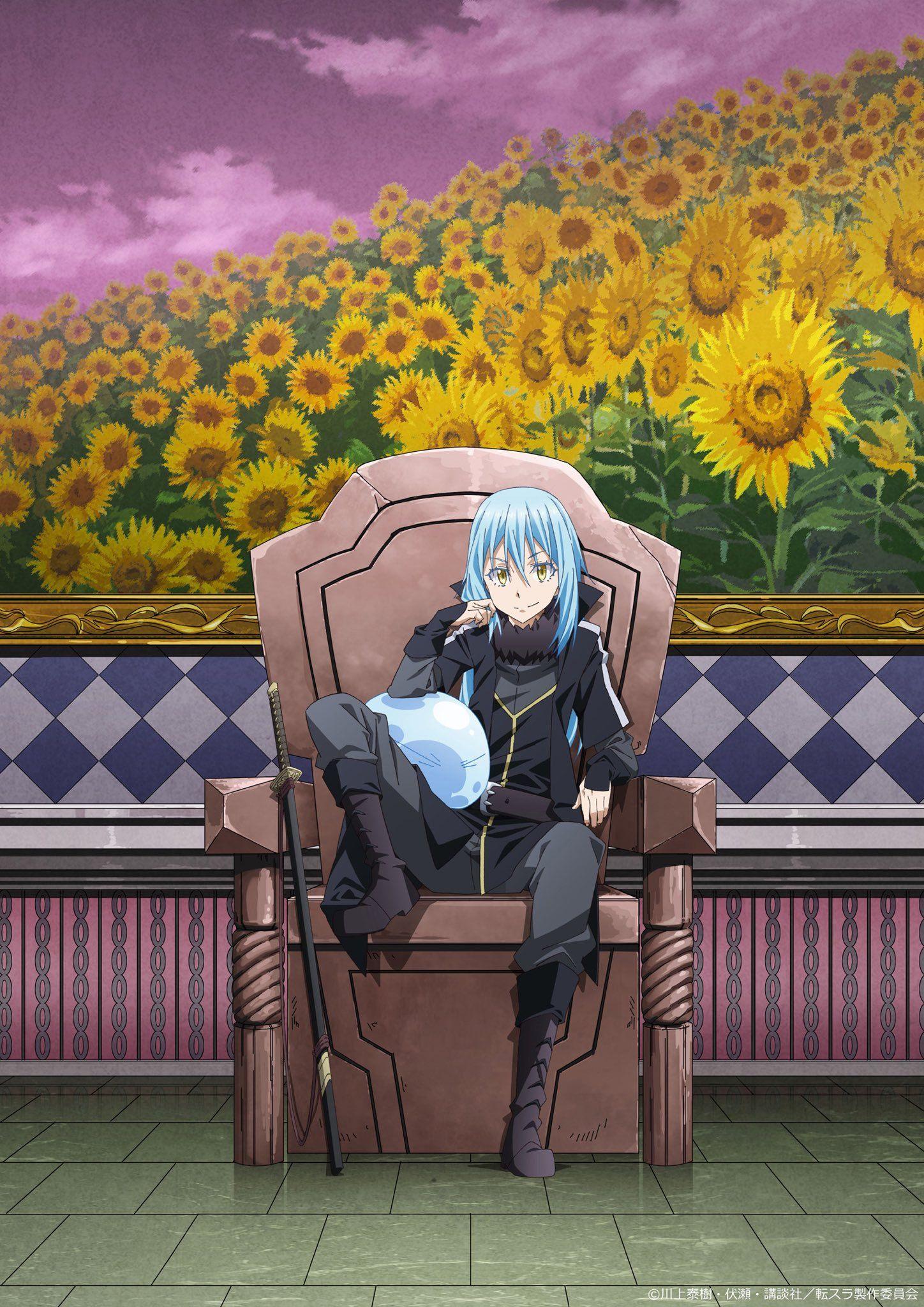 【公式】TVアニメ『転生したらスライムだった件』 on 關於我轉生成為史萊姆這檔事 Anime, Slime