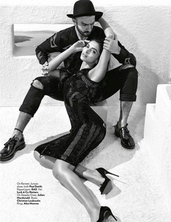 Deepika Padukone And Ranveer Singh Photoshoot For Vogue Magazine October 2015 Vogue Photoshoot Photoshoot Photography Couples Photoshoot