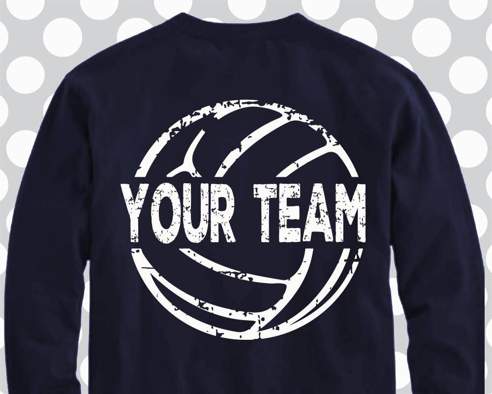 Pin By Stacy On Silhouette Cameo Volleyball Shirt Designs Volleyball Shirts Volleyball Team Shirts