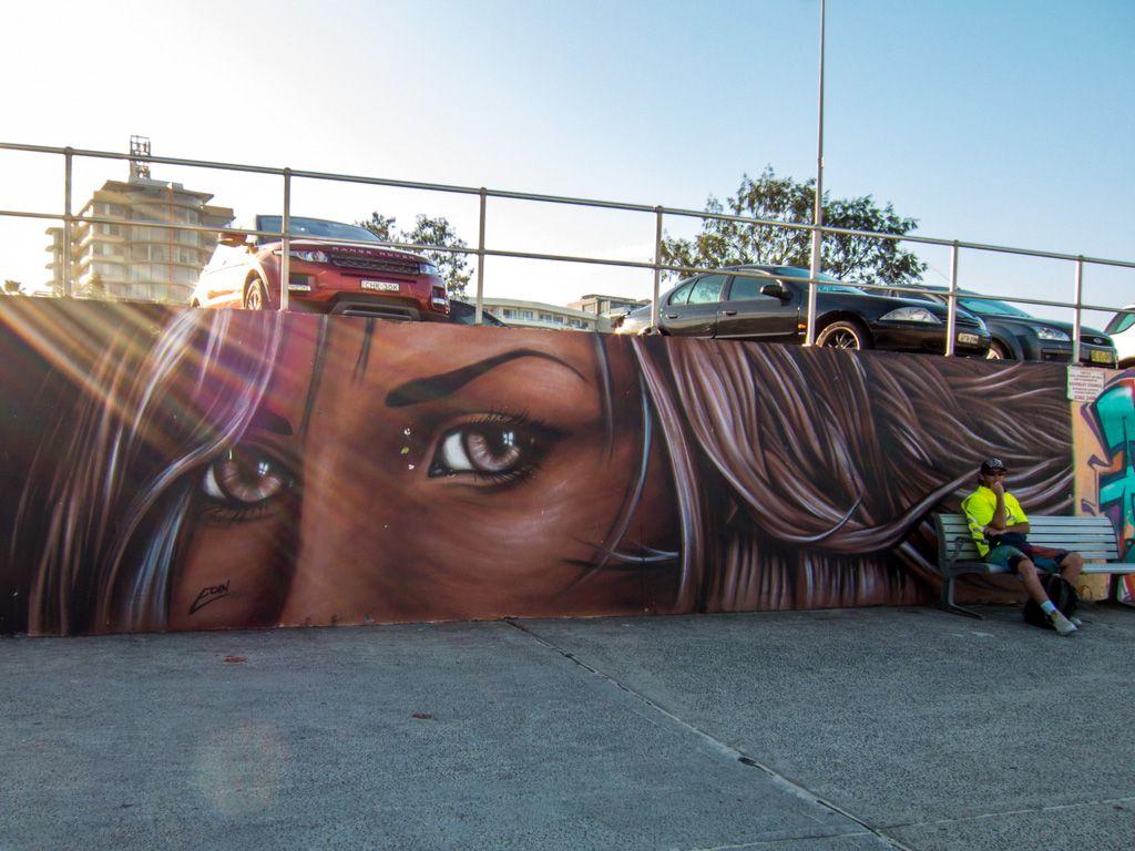 Bondi Beach Street Art Street Graffiti Bondi Beach Art