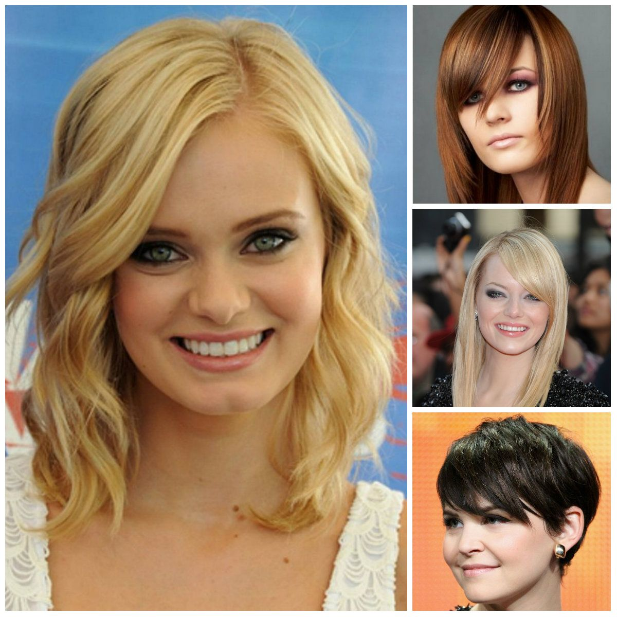 haircuts-for-round-face-2017 | hair styles | pinterest | face shapes