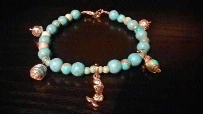 . turquoise stone bracelet