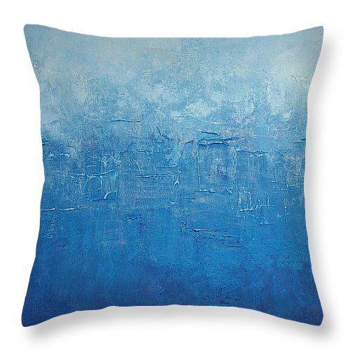 "Destin Throw Pillow 14"" x 14"" by Cathleen Klibanoff"