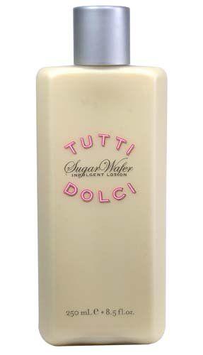 Bath & Body Works Tutti Dolci Sugar Wafer Indulgent Lotion 8.5 oz Tutti Dolci http://www.amazon.com/dp/B001CXSSAS/ref=cm_sw_r_pi_dp_MGqhub10EY4FE