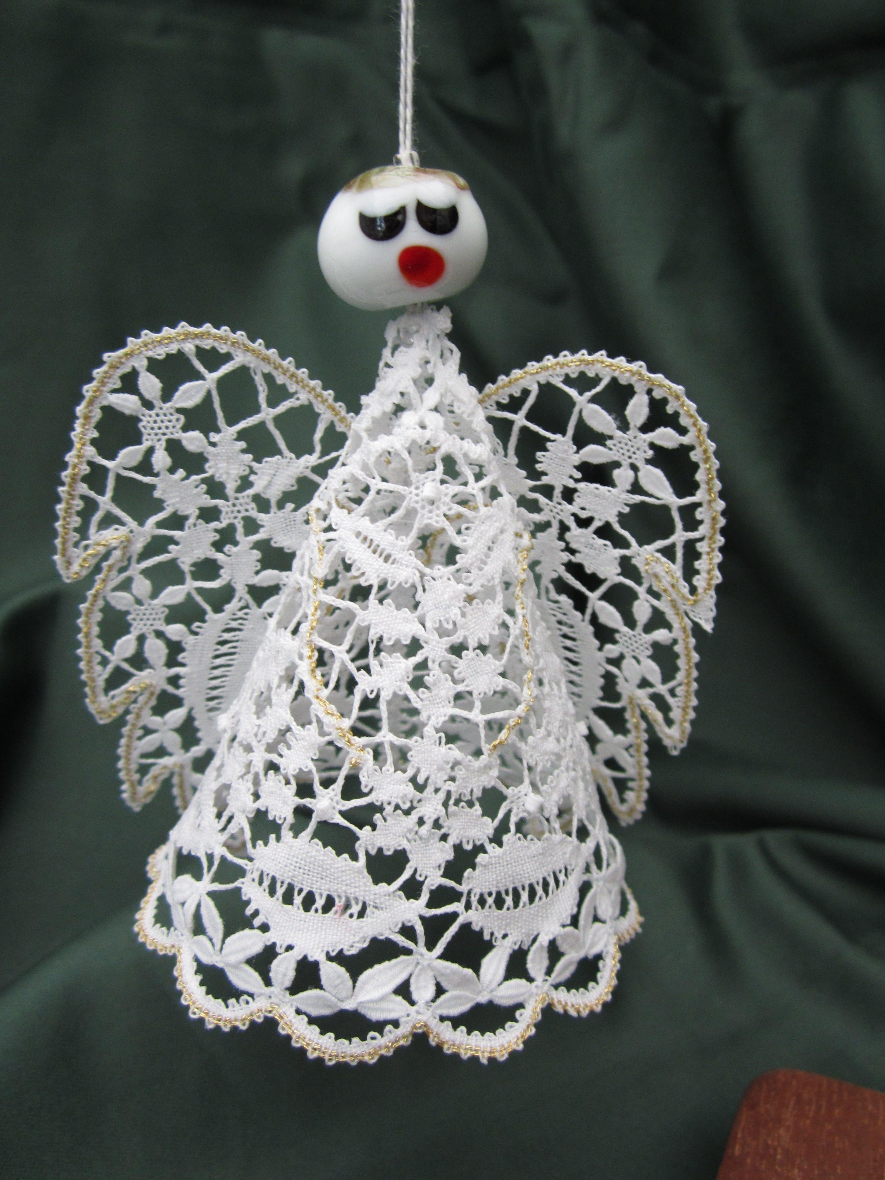 Male Angel Christmas Ornaments