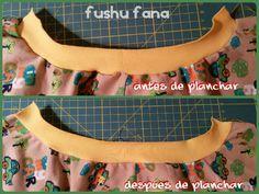 FushuFana: Tutorial: Cómo ribetear cuellos y puños
