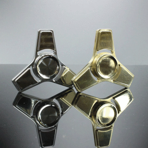 Custom Brass or Stainless Steel Hand Spinner/Fidget Toy Free Shipping
