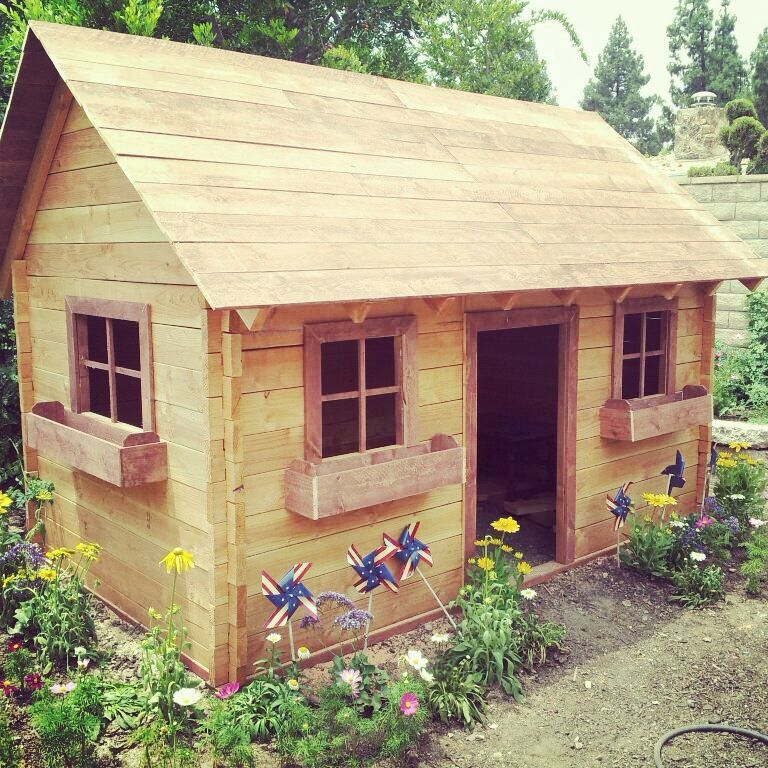 kids log cabin play house created and designed by rumph