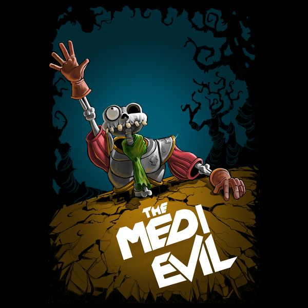 The Medievil Neatoshop Evil Art Game Art Android Wallpaper