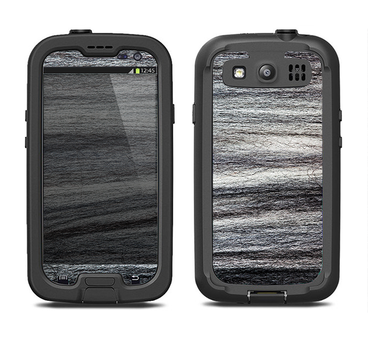 The Strands of Dark Colored Hair Samsung Galaxy S3 LifeProof Fre Case Skin Set