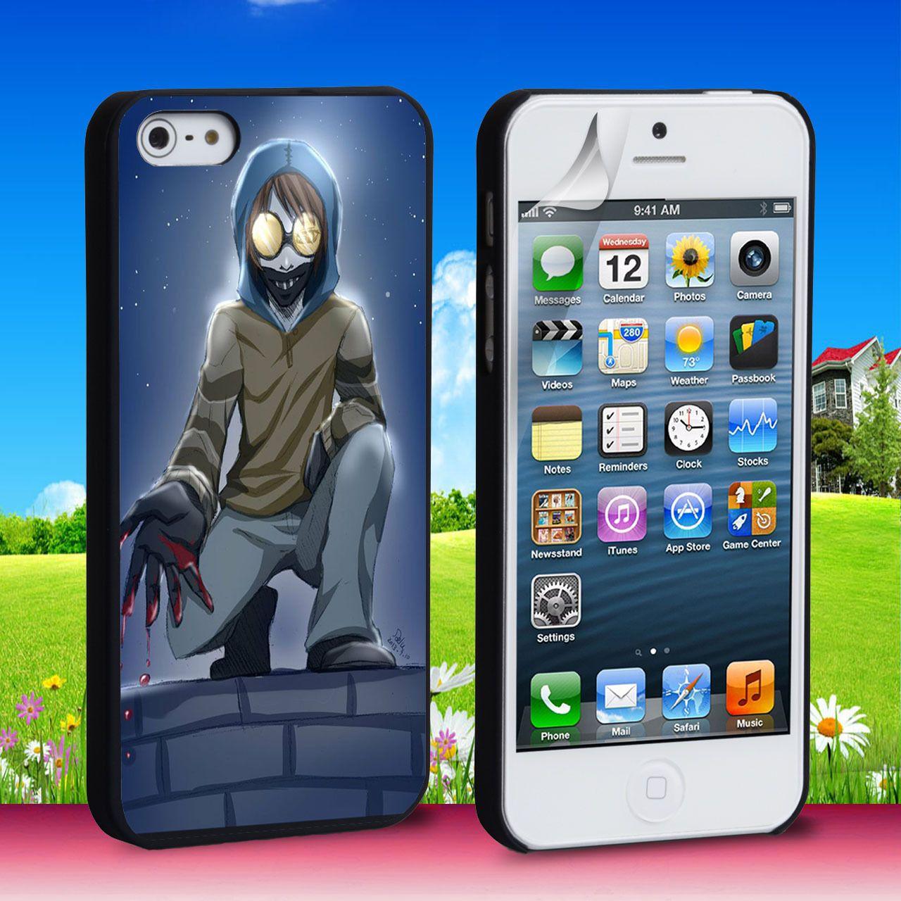 Creepypasta Ticci Toby iPhone 4 5 6 6 Plus Case
