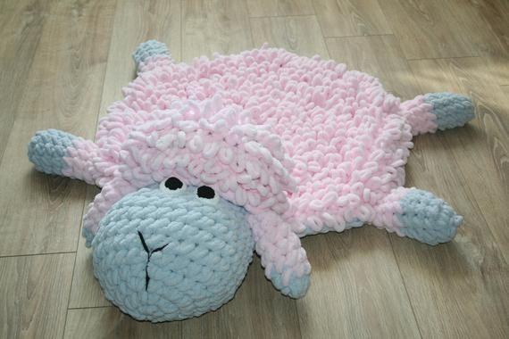 Rug Animal Soft Baby Rug Sheep Kids Rug Round Children S Rug Soft Rug Shaun The Sheep Mat For Childr Animal Rug Baby Rugs Bear Rug