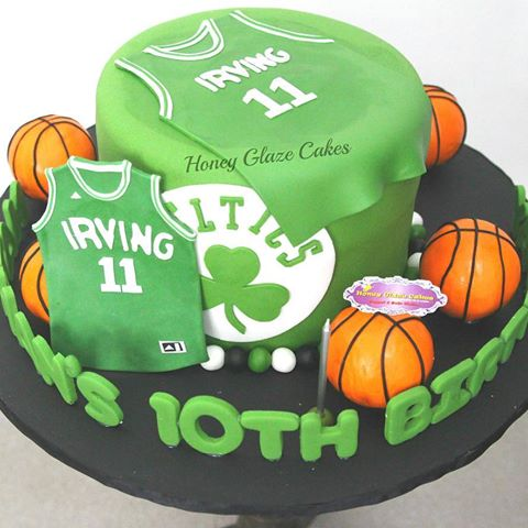 Peachy Boston Celtics Birthday Cake Google Search Cake Birthday Cake Personalised Birthday Cards Paralily Jamesorg