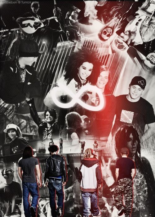 My favorite band; Tokio Hotel <3