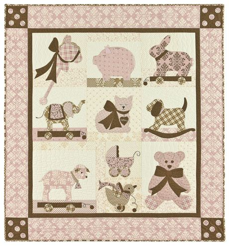 Cute baby quilt or blankie