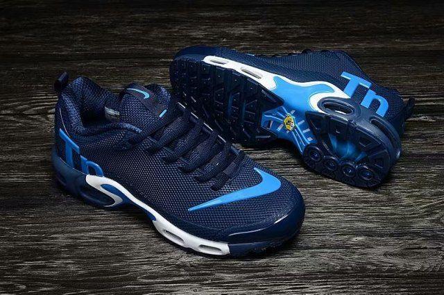 354194cc58f Nike Mercurial TN KPU Navy Blue Jade White Sneakers Men s Shoes ...